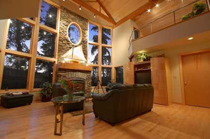 Decorar con madera - Decoracion casas de madera ...
