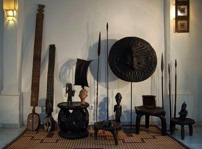 Decoraci n africana - Decoracion etnica salones ...