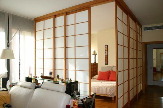 C mo decorar con paneles japonenes consejos y dise os - Como colocar un panel japones ...