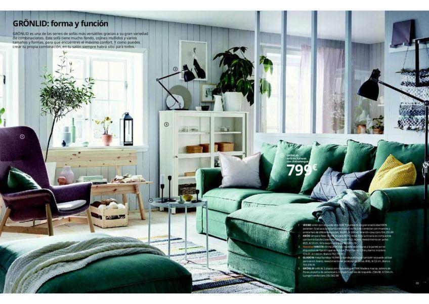 Catálogo de salones Ikea 2020 - BlogHogar.com