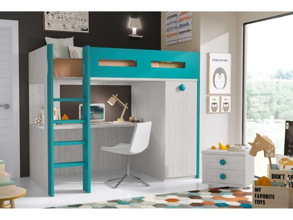 Consejos para un dormitorio juvenil 2019 for Muebles modulares juveniles