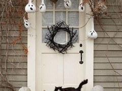Decorar puerta  y entrada para Halloween