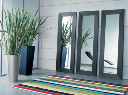Espejos en el hogar for Marcos de espejos modernos