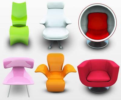 iconos-de-sillas