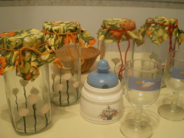 Ordenar con frascos de vidrio for Decoracion de frascos de vidrio para cocina
