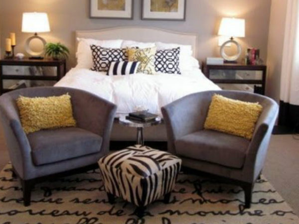 23 fotos de decoraci n de dormitorios modernos - Sillones para leer ...