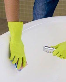 C mo limpiar el cuarto de ba o - Como limpiar el moho del bano ...