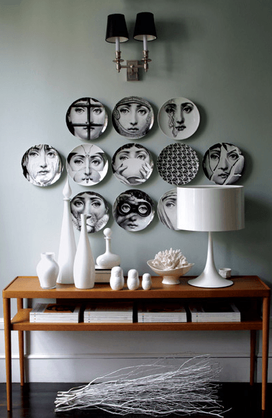 Platos decorativos para la pared - Objetos para decorar paredes ...