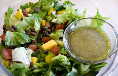 cilantro lime dressing salad small