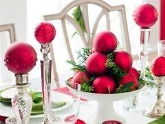 Centros mesa para Navidad fáciles