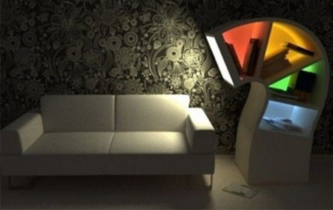 Colorful-Lights-of-Minimalist-and-Creative-LED-Bookcase-for-Night-Owls-600x378
