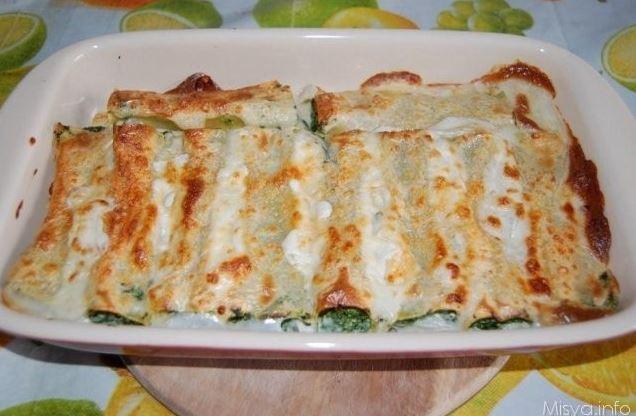 canelones-espinacas-gambas