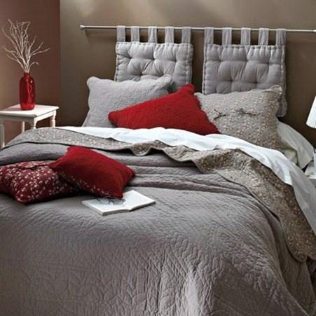 Cabeceros de cama hazlo t mismo diy - Como colocar cojines en la cama ...