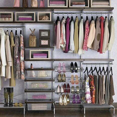 moderno y elegante en moda nuevo lanzamiento en pies tiros de Vestir armarios - BlogHogar.com