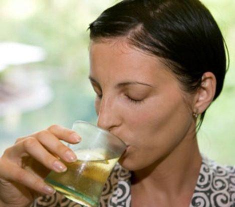 Te verde frio |refresco sano