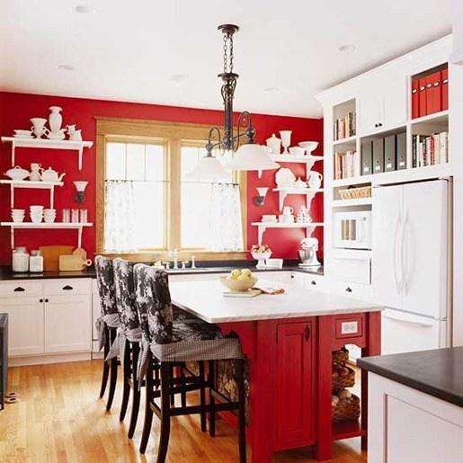 Cambiar De Cocina Cocinas En Rojo Bloghogarcom - Cocinas-en-rojo