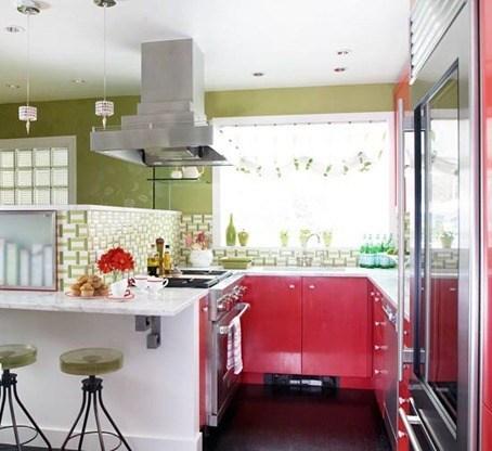 Cambiar de cocina |Cocinas en rojo