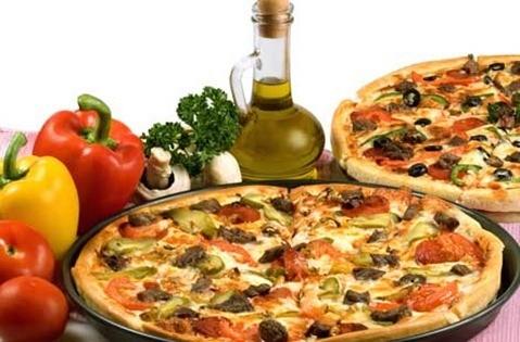 Pizza ligera, receta fácil