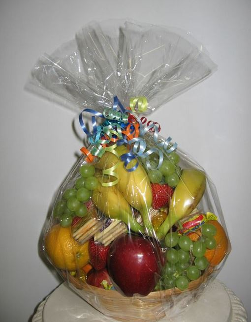 cesta de frutas de regalo