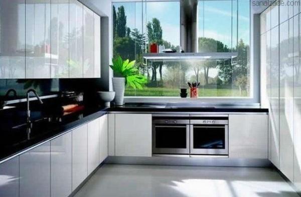 Diseño de cocina en L - BlogHogar.com