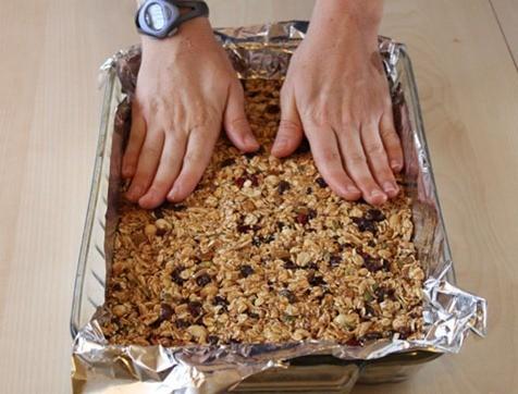 Barritas de cereales light| recetas fáciles