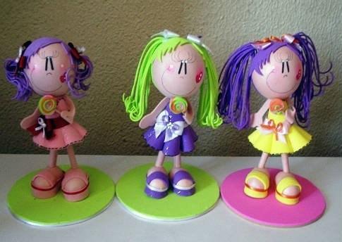 Cómo hacer muñecas fofuchas