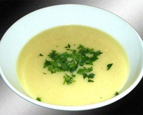 Recetas ligeras| crema de coliflor