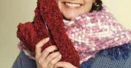 Cómo hacer bufandas de lana fáciles