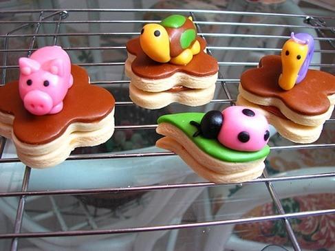 Receta para galletas fondant