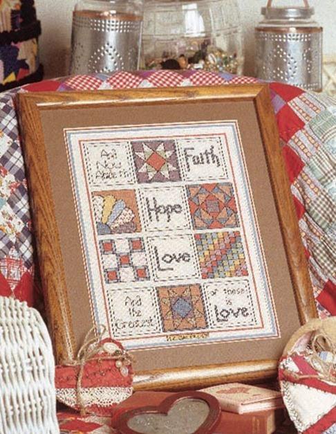 Patrones punto de cruz gratis - BlogHogar.com