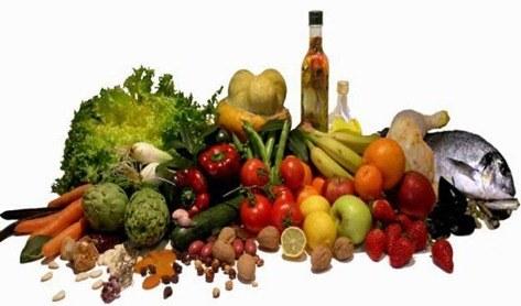 Alimentos recomendados para una dieta sana