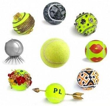 Manualidades fáciles y baratas con pelotas de tenis