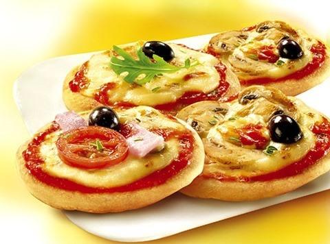 Recetas para niños  Mini pizzas