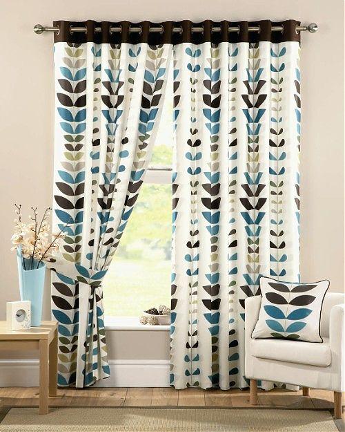 Fotos de cortinas modernas para el sal n ideas para for Fotos de cortinas de salon