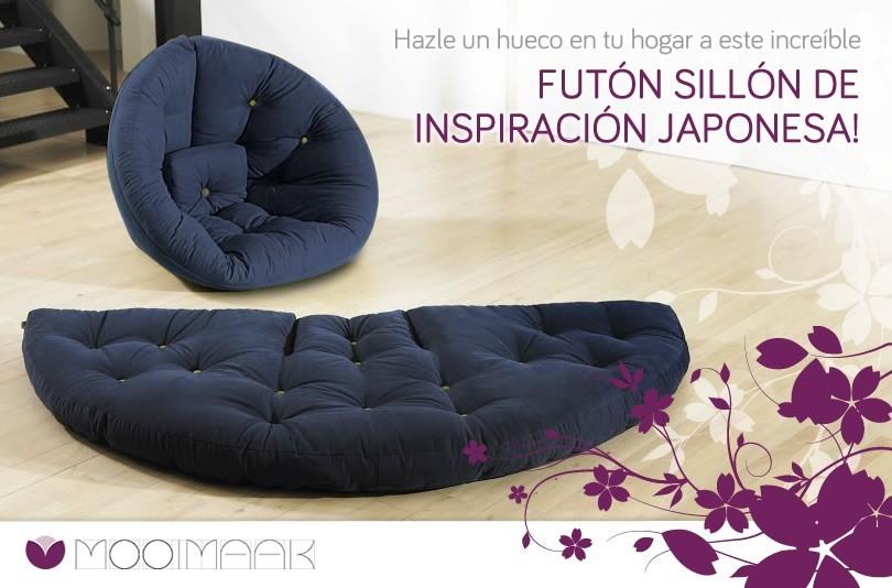 Ll vate un sill n fut n de estilo japon s gratis - Comprar futon japones ...