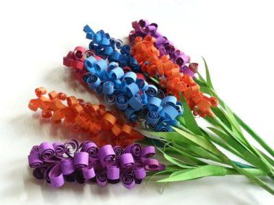 Cómo hacer flores de goma eva | paso a paso