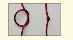 nudo macrame sencillo