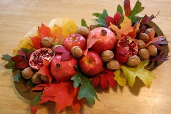 Centros de mesa de otoño