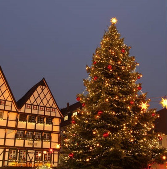 arbol navidad tradicional