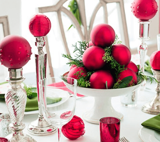 Centros de mesa navidad f ciles for Centro mesa navidad manualidades