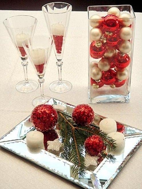 Centros de mesa Navidad fciles BlogHogarcom
