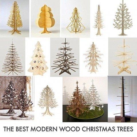 árboles navidad modernos