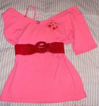 Camiseta mini vestido