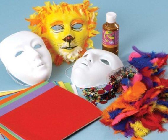 Cómo Hacer Máscaras De Carnaval Bloghogarcom