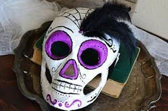 C mo hacer m scaras de carnaval - Como hacer una mascara ...