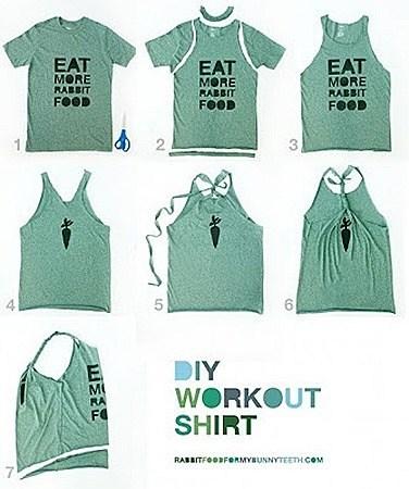 coser camisetas