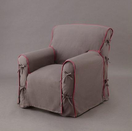 C mo hacer fundas para un sill n - Fundas elasticas para sillones ...