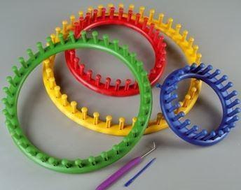 Cómo usar un telar circular
