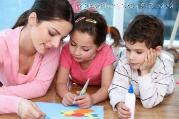 Manualidades fáciles para padres