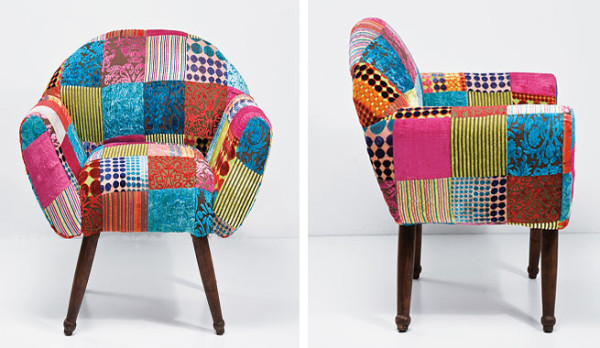 C mo hacer fundas para un sill n for Sillas tapizadas estampadas